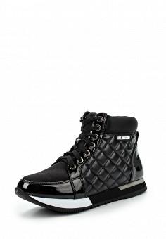 Кроссовки, Love Moschino, цвет: черный. Артикул: LO416AWJEC72. Женщинам / Обувь / Кроссовки и кеды