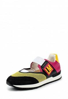 Кроссовки, Love Moschino, цвет: мультиколор. Артикул: LO416AWPUM49. Премиум / Обувь / Кроссовки и кеды / Кроссовки