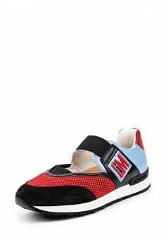 Кроссовки, Love Moschino, цвет: мультиколор. Артикул: LO416AWPUM50. Премиум / Обувь / Кроссовки и кеды / Кроссовки