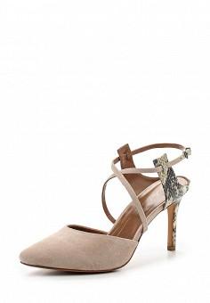 Туфли, Lola Cruz, цвет: бежевый. Артикул: LO688AWRTS98. Премиум / Обувь / Туфли