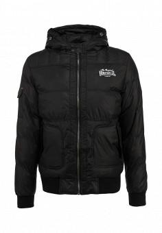 Куртка утепленная, Lonsdale, цвет: черный. Артикул: LO789EMCSC53. Мужская одежда / Верхняя одежда