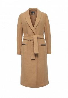Пальто, Marciano Guess, цвет: бежевый. Артикул: MA087EWJMY88. Премиум / Одежда / Верхняя одежда / Пальто