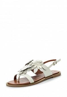 Сандалии, Max&Co, цвет: белый. Артикул: MA111AWOLS53. Премиум / Обувь / Сандалии