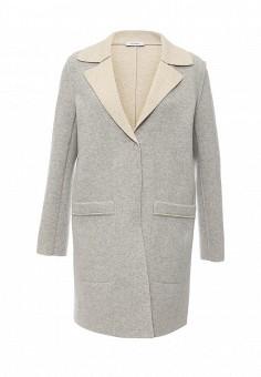 Пальто, Max&Co, цвет: серый. Артикул: MA111EWOMK94. Премиум / Одежда / Верхняя одежда / Пальто