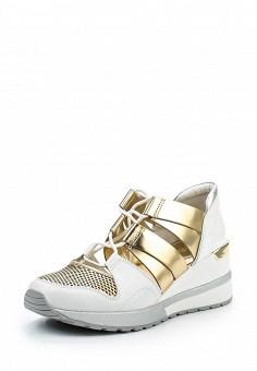 Кроссовки, Michael Michael Kors, цвет: золотой. Артикул: MI048AWQQQ16. Премиум / Обувь / Кроссовки и кеды
