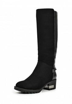 Сапоги, Milana, цвет: черный. Артикул: MI840AWNXM26. Женская обувь / Сапоги
