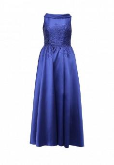 Платье, To be Bride, цвет: синий. Артикул: MP002XW0DPAP. Женская одежда / Платья и сарафаны / Вечерние платья