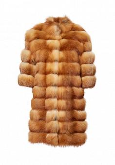 Шуба, Grafinia, цвет: оранжевый. Артикул: MP002XW0DV9C. Женская одежда / Верхняя одежда / Шубы и дубленки
