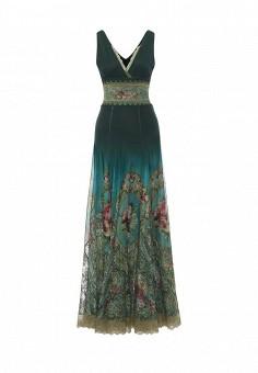 Платье, Michal Nergin, цвет: бирюзовый. Артикул: MP002XW1GIXS. Женская одежда / Платья и сарафаны / Вечерние платья