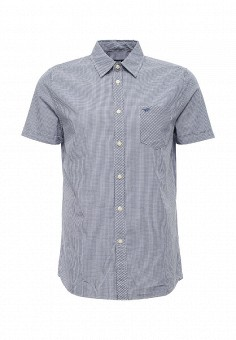 Рубашка, Mustang, цвет: синий. Артикул: MU454EMPMI40. Мужская одежда / Рубашки