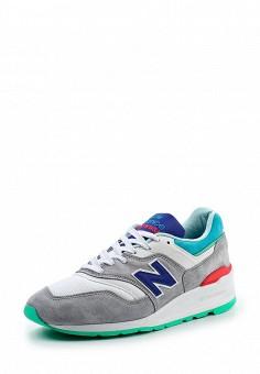 Кроссовки, New Balance, цвет: серый. Артикул: NE007AMPDJ33. Мужская обувь