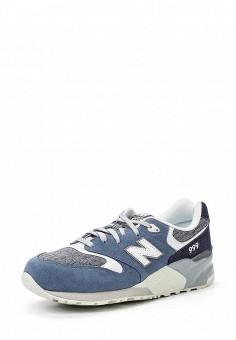 Кроссовки, New Balance, цвет: синий. Артикул: NE007AMPDJ60. Мужская обувь