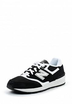 Кроссовки, New Balance, цвет: черный. Артикул: NE007AMPDJ76. Мужская обувь