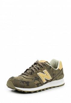 Кроссовки, New Balance, цвет: хаки. Артикул: NE007AMPDJ83. Мужская обувь