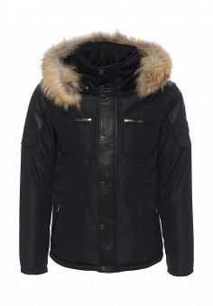 Куртка утепленная, Oakwood, цвет: черный. Артикул: OA002EMJJJ82. Мужская одежда / Верхняя одежда
