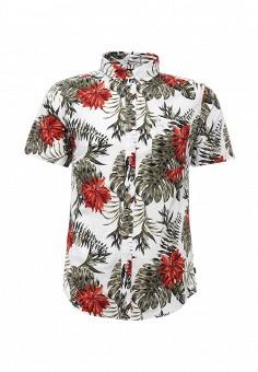 Рубашка, Only & Sons, цвет: белый. Артикул: ON013EMRNS04. Мужская одежда / Рубашки