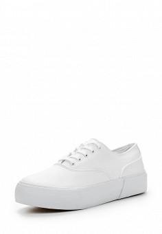 Кеды, oodji, цвет: белый. Артикул: OO001AWIGJ68. Женская обувь / Кроссовки и кеды