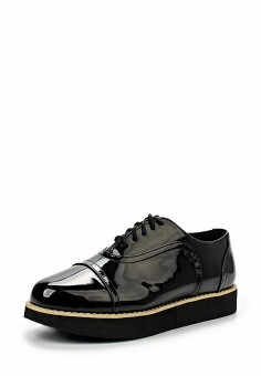 Ботинки, oodji, цвет: черный. Артикул: OO001AWKFV26. Женская обувь / Ботинки