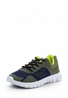 Кроссовки, oodji, цвет: мультиколор. Артикул: OO001AWPPA35. Женская обувь / Кроссовки и кеды / Кроссовки