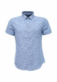 Рубашка, oodji, цвет: голубой. Артикул: OO001EMMGP26. Мужская одежда / Рубашки