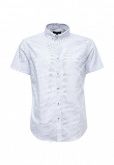 Рубашка, oodji, цвет: белый. Артикул: OO001EMTNS31. Мужская одежда / Рубашки
