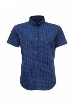 Рубашка, oodji, цвет: синий. Артикул: OO001EMTNS32. Мужская одежда / Рубашки