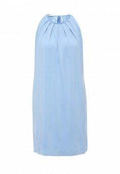 Платье, oodji, цвет: голубой. Артикул: OO001EWLQF03. Женская одежда / Платья и сарафаны / Летние платья