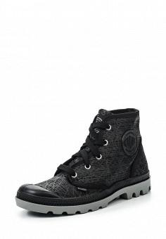 Ботинки, Palladium, цвет: черный. Артикул: PA307AWRWN53. Женская обувь / Ботинки