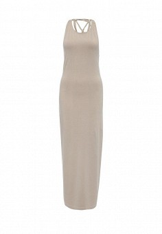 Платье, Patrizia Pepe, цвет: бежевый. Артикул: PA748EWPTM91. Премиум / Одежда / Платья и сарафаны