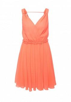 Платье, Patrizia Pepe, цвет: оранжевый. Артикул: PA748EWPTQ45. Премиум / Одежда / Платья и сарафаны