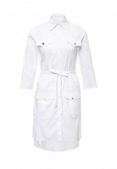 Платье, Patrizia Pepe, цвет: белый. Артикул: PA748EWPTQ53. Премиум / Одежда / Платья и сарафаны