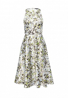 Платье, Patrizia Pepe, цвет: мультиколор. Артикул: PA748EWPTQ68. Премиум / Одежда / Платья и сарафаны