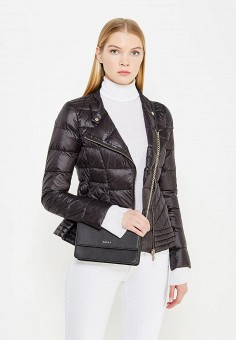 Пуховик, Patrizia Pepe, цвет: черный. Артикул: PA748EWTUR54. Премиум / Одежда / Верхняя одежда / Пуховики и зимние куртки