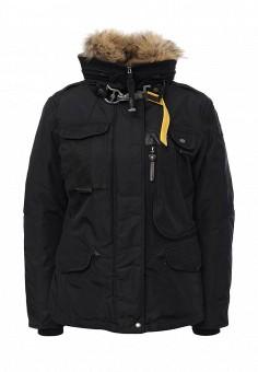 Пуховик, Parajumpers, цвет: черный. Артикул: PA997EWKKF37. Женская одежда / Верхняя одежда