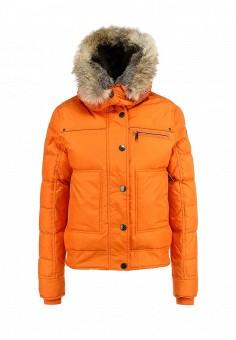 Пуховик, Pajar, цвет: оранжевый. Артикул: PA998EWFXG97. Женская одежда