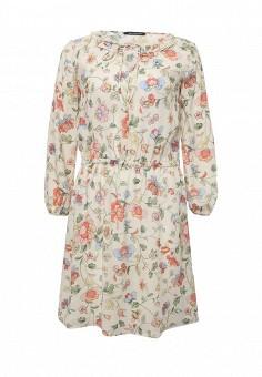 Платье, Pennyblack, цвет: белый. Артикул: PE003EWOHU91. Премиум / Одежда / Платья и сарафаны