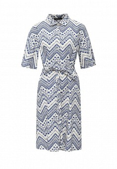 Платье, Pennyblack, цвет: синий. Артикул: PE003EWOHV25. Премиум / Одежда / Платья и сарафаны