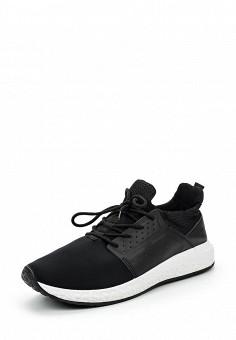 Кроссовки, Piazza Italia, цвет: черный. Артикул: PI022AMQJN22. Мужская обувь / Кроссовки и кеды / Кроссовки