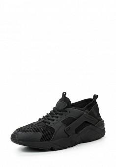 Кроссовки, Piazza Italia, цвет: черный. Артикул: PI022AWQJO30. Женская обувь / Кроссовки и кеды / Кроссовки