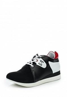 Кроссовки, Pink Frost, цвет: черно-белый. Артикул: PI023AWSAD28. Женская обувь / Кроссовки и кеды / Кроссовки