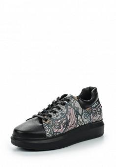 Кроссовки, Pink Frost, цвет: черный. Артикул: PI023AWSAD41. Женская обувь / Кроссовки и кеды / Кроссовки