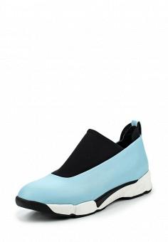 Кроссовки, Pinko, цвет: голубой. Артикул: PI754AWOIF56. Премиум / Обувь / Кроссовки и кеды / Кроссовки
