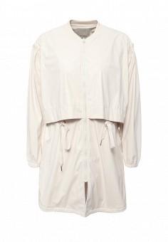 Плащ, Pinko, цвет: бежевый. Артикул: PI754EWOID52. Женская одежда / Верхняя одежда / Кожаные куртки