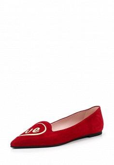 Балетки, Pretty Ballerinas, цвет: красный. Артикул: PR758AWRHD37. Премиум / Обувь / Балетки