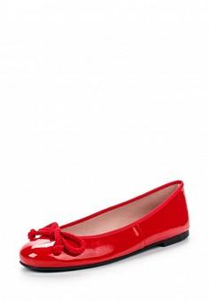 Балетки, Pretty Ballerinas, цвет: красный. Артикул: PR758AWRHD46. Премиум / Обувь / Балетки