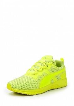 Кроссовки, Puma, цвет: зеленый. Артикул: PU053AUQOX48. Женская обувь / Кроссовки и кеды / Кроссовки