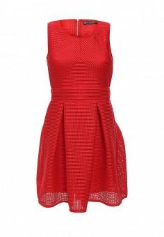 Платье, QED London, цвет: красный. Артикул: QE001EWHZV82. Женская одежда / Платья и сарафаны / Летние платья