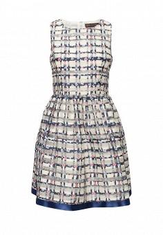 Платье, QED London, цвет: мультиколор. Артикул: QE001EWIVZ31. Женская одежда / Платья и сарафаны / Летние платья