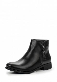 Ботинки, Queen Vivi, цвет: черный. Артикул: QU004AWLIL11. Женская обувь / Ботинки