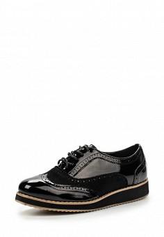 Ботинки, Queen Vivi, цвет: черный. Артикул: QU004AWLIL15. Женская обувь / Ботинки